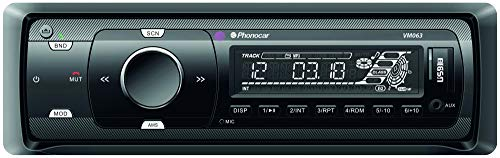 Autoradio 1 DIN SINTO AM/FM - USB - SD - MP3 - BLUETOOTH