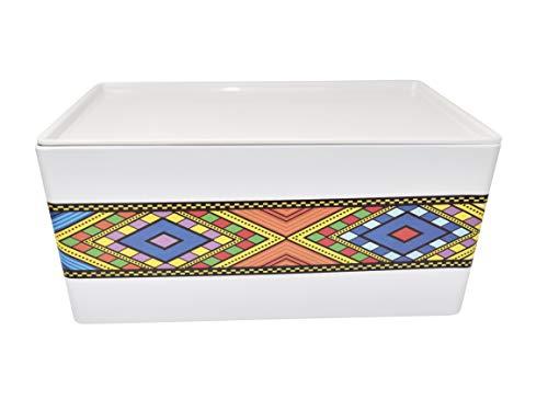 Äthiopisches/eritreisches Kaffee-Tablett Rékébot () Tílét ( ) Edition 1