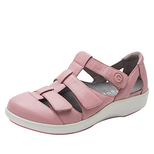 TRAQ BY ALEGRIA Treq Womens Smart Walking Shoe Blush 9 M US