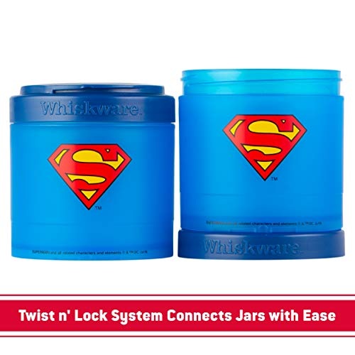 Product Image 5: Whiskware Justice League Stackable Snack Pack, Superman