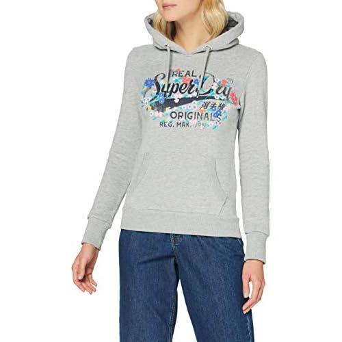Superdry Women's Real Originals Floral Hood Sweatshirt