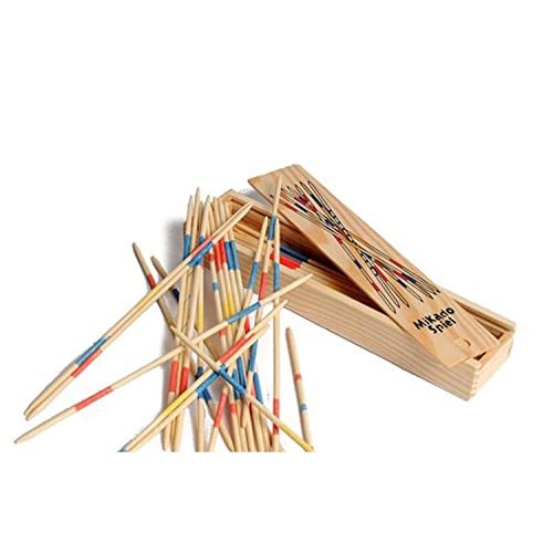 Wooden Pick Up Sticks by Henbrandt