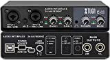 Black Dragon XTUGA E22 Audio Interface True Stereo Sound Card For Recording For PC/Win/Mac,2 In 2 Out,USB Audio Interfaces, 24-bit/192 kHz,TRS balanced,with Headphone Amplifier