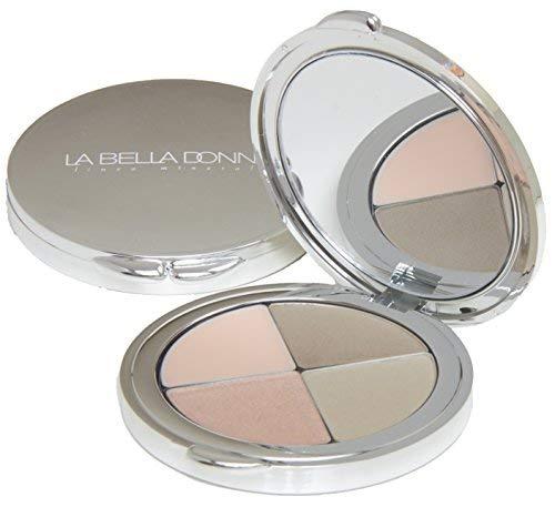La Bella Donna Komplett Brow Kit Quad Compact Blond