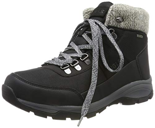 Aigle Vedur Warm W, Chaussures de Randonnée Hautes Femme, Noir (Black 001), 39 EU