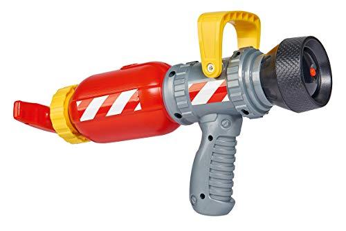 Simba 109252298 - Feuerwehrmann Sam Feuerwehr Wassergewehr / Druckluftmechanismus / 31cm / Tankvolumen 450ml / Reichweite 9m