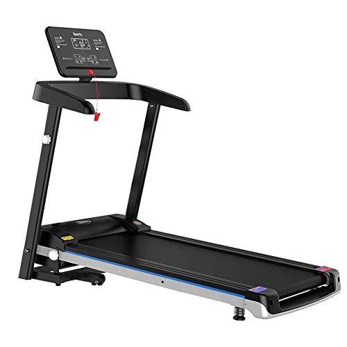 HYY-YY - Cinta de correr plegable para correr, sin instalación de bajo ruido, perfecto para uso en el hogar para gimnasio (color: negro, tamaño: 128 x 68 x 124 cm)