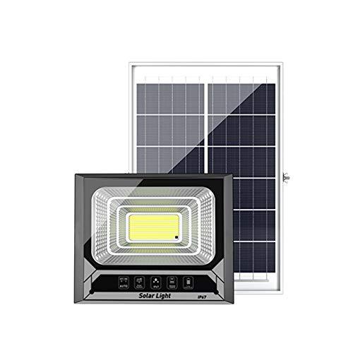 Faro Solare Led Esterno Telecomando, Dusk To Dawn IP67 Impermeabile Proiettori Di Sicurezza Ad Energia Solare Illuminazione Di Sicurezza Da Giardino(Color:800W)