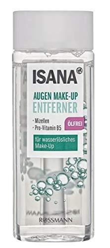 Augen Make-up Entferner - Für wasserlösliches Make-Up - Mit Mizellen und Provitamin B5 - Ölfrei - 100 ml