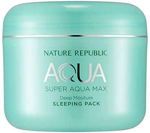 Nature Republic Super Aqua Max Deep Moisture Sleeping Pack, 100 Gram