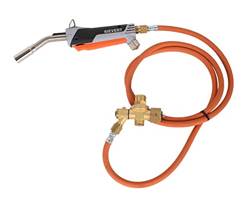Promatic Lötgarnitur 1250 der Turbobrenner mit Piezozündung von Sievert