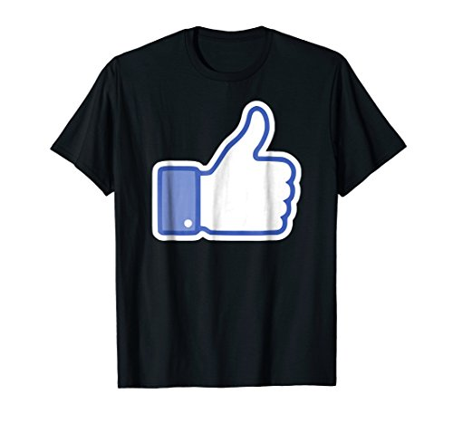 Social Media Facebook Thumbs Up I LIKE YOU shirt