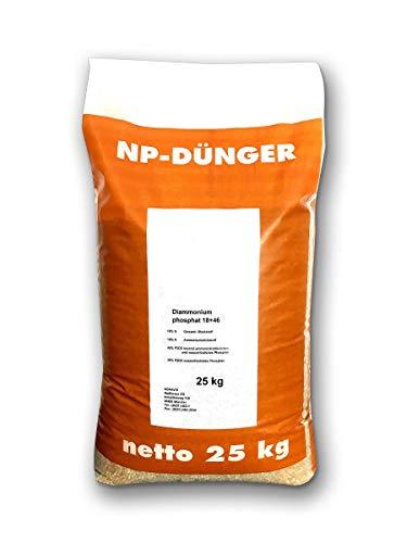 Fertilizante NP, abono de maíz, saco de 25 kg, abono para césped