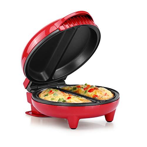 Holstein Housewares Omelet Maker, Red