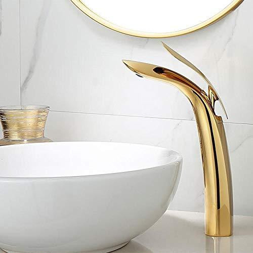 Alle koper warm en koud bekken kraan goud badkamer Counter wastafel wastafel kraan kraan badkamer kast ideeën