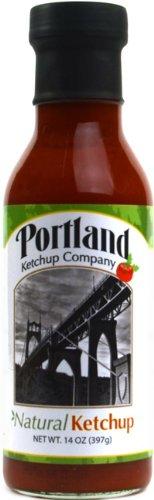 Organic Natural Ketchup: Portland Ketchup Company 14 oz Gluten-Free Vegan No-GMOs (2-Pack)