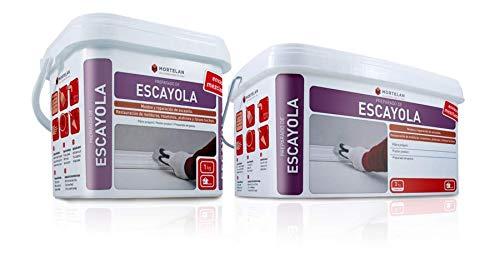 ESCAYOLA PARA REPARACIONES DE TECHOS O MANUALIDADES GECOL - MORTELAN (1 KG)