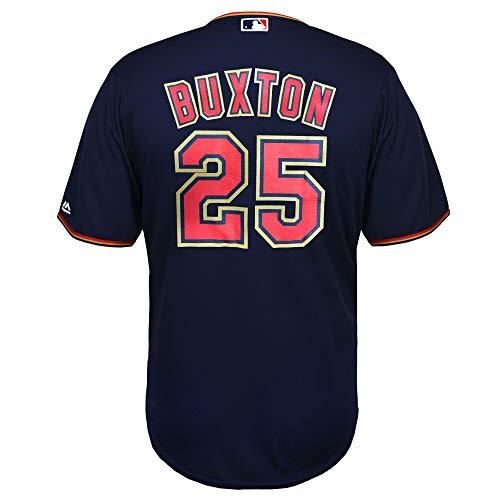 Byron Buxton Minnesota Twins Youth 8-20 Navy Alternate Cool Base Player Jersey (Medium 10/12)