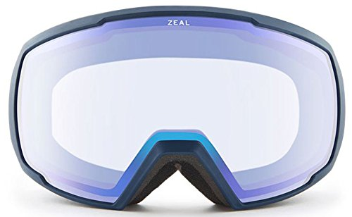 Zeal 11347 11347 Navajo Navy Nomad Visor Goggles Lens Category 3 Lens Mirrored Size 190mm