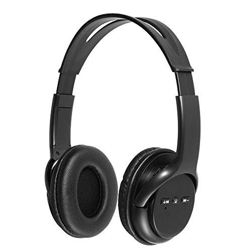Andoer Fone de ouvido sem fio Bluetooth Fone de ouvido sobre a orelha viva-voz com microfone para 7 Plus Galaxy outros dispositivos com Bluetooth