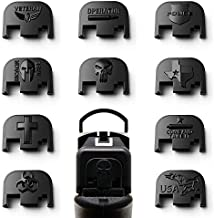 MakerShot 3D Aluminum Slide Cover Plate - Glock 17-41 Gen 1-4 ('Merica Eagle)