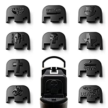 MakerShot 3D Aluminum Slide Cover Plate Compatible with Glock 17-41 Gen 1-4   Come and Take It