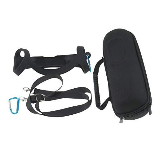 OTOTEC Tasche für JBL Charge 3, tragbar, wasserdicht, Taschenbox, Reise, Eva, Schutzhülle mit Schutzhülle aus Silikon