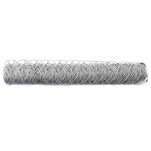 labworkauto Galvanized Poultry Wire Netting 2' Hexagonal Mesh Wire Fence fit for Family Craft Projects Chicken Netting Garden Fencing Backyard Fencing (4ft x 150ft)