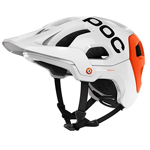 POC Cilindro de casco tectal Race Varios colores Hydrogen White/Iron Orange Talla:extra-small/small