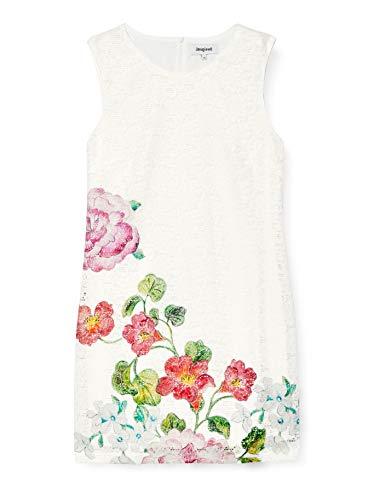 Desigual Damen Vest_Bonney Kleid, Weiß (CRUDO 1001), 42 DE (Herstellergröße: 44)