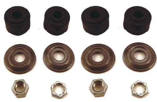 10L0L (2 Golf Cart Shock Absorber Bushing Kits Fits Club Car (1982+) DS and Precedent Two Front/Rear Stud, Replaces OEM# 1011415
