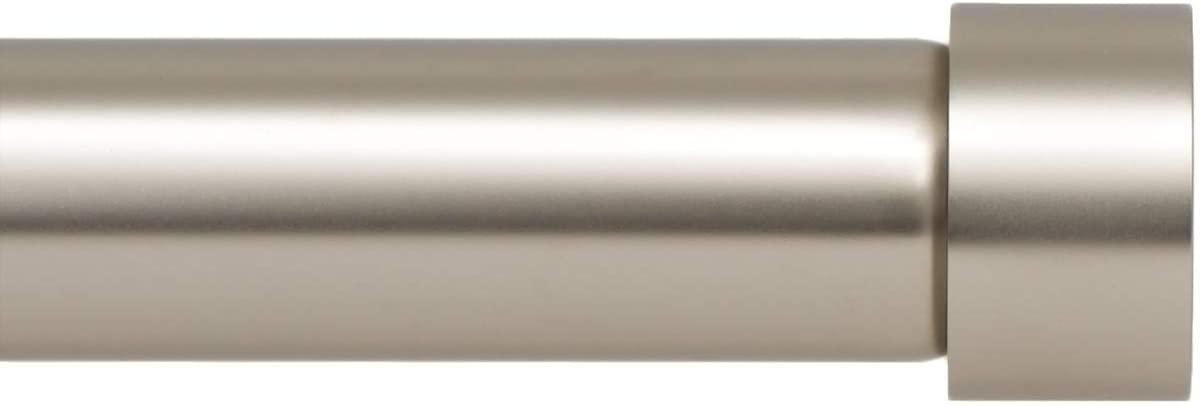 Ivilon Drapery Opening large release sale Window Curtain Rod - Style Design Cap Popularity End Inch 1