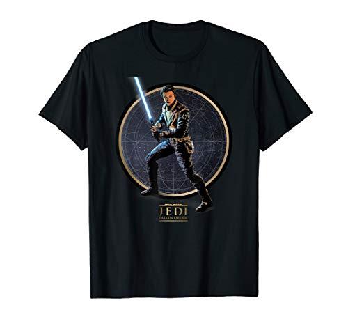 Star Wars Jedi Fallen Order Cal Kestis Pose T-Shirt