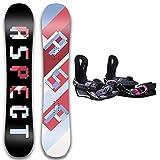 Paquete De Snowboard para Principiantes De Estilo Libre, Botas, Paquete Completo De Snowboard para Mujer, Fijaciones Ajustables, para Ciclistas Experimentados,Length 157cm(Boots Size L)