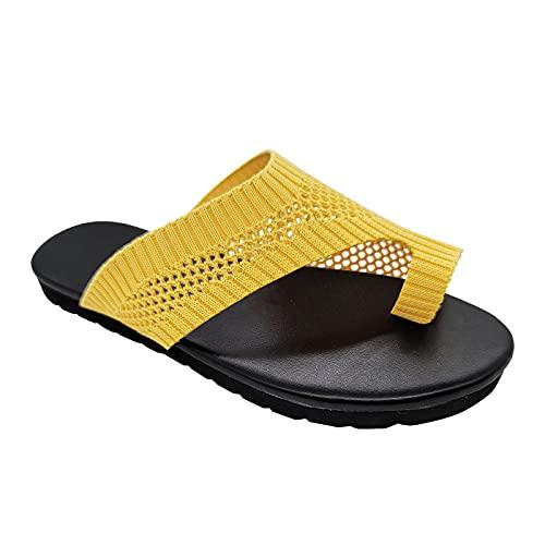 Sandalias Mujer Verano 2021 Zapatos de cuña para Mujer Sandalias de tacón Alto Zapatos Sandalias Planas Mujer Sandalias de Estilo Romano Flip Flop