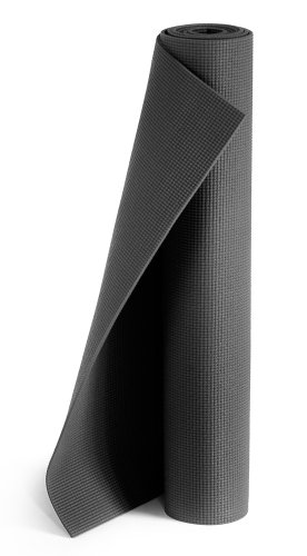 Yogistar Yogamatte Plus - rutschfest und extra lang - Black
