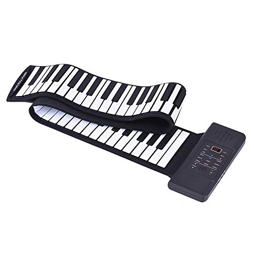 Check Out This WANGLXST Portable Hand Roll Piano, Portable 88 Key Professional Thickening Keyboard K...