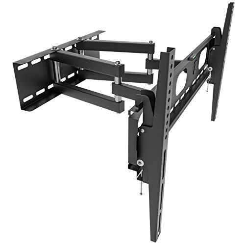 OKSI - Soporte de pared para televisores y monitores de 32 pulgadas (81 cm) - 55 pulgadas | Inclinación de movimiento +/- 15° | Distancia máxima a la pared 47 cm