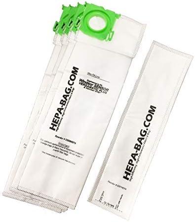 5300 HEPA Bag Kit for Windsor Sensor Versamatic Plus and More 10pk plus FREE Filter product image