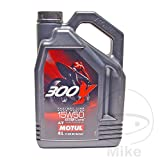 MOTUL 300V 4T Factory Line 104129 Road Racing, 15W-50, 4 L