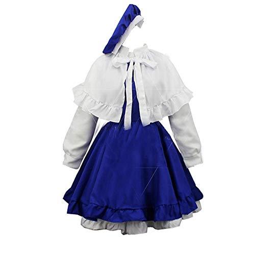 Charous Cosplay Kost¨¹m Anime Cardcaptor Sakura Maid Sch¨¹rze Kleid Uniformkleid Cosplay Party Halloween Kost¨¹m f¨¹r Frauen?