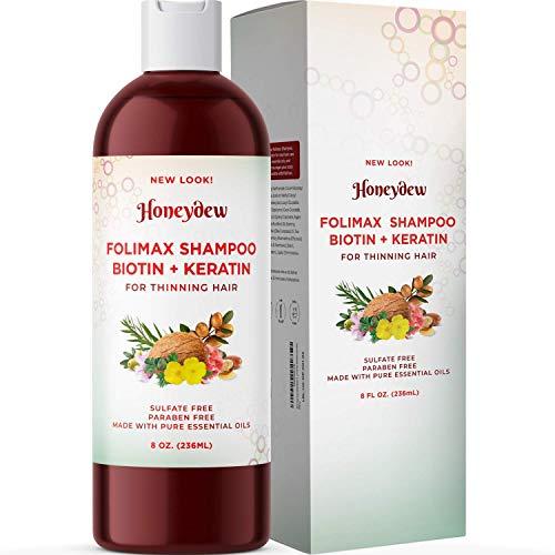 Folimax Biotin Shampoo for Thinning Hair -...