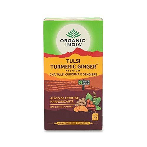 Organic India Tulsi Turcuma Ingwer Tee 25 Aufgussbeutel