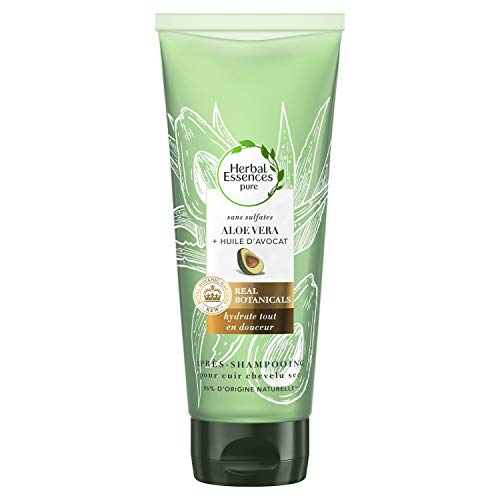 Herbal Essences Après Shampoing sans Sulfates Aloe Vera/Huile d'Avocat 180ml