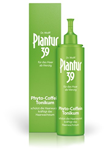Plantur 39 Phyto-Coffein-Tonikum – Haarwasser zur Vorbeugung vor menopausalem Haarausfall – mit Vitalstoffen aus der Soja-Pflanze – unabhängig von der Haarwäsche anwendbar – 1 x 200 ml