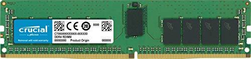 Crucial CT16G4RFD8266 16Gb Ddr4-2666 Rdimm, 16 Gb (1 X 16 Gb), Ddr4 Sdram, 2666 Mhz Ddr4-2666/Pc4-21300, 1.20 V, Ecc, Registered, 288-Pin, Dimm