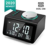 Best Alarm Clock With Radios - ANJANK Small Digital Alarm Clock Radio - FM Review