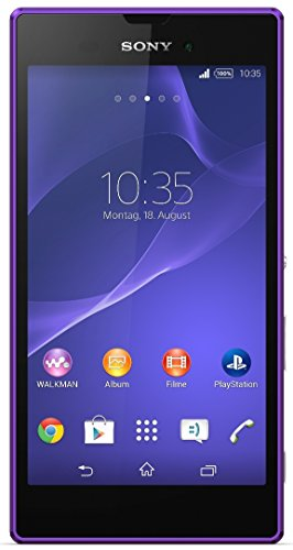 Sony Xperia Style Smartphone (13,5 cm (5,3 Zoll) HD-TRILUMINOS-Display, 1,4-GHz-Quad-Core-Prozessor, 8 Megapixel-Kamera, Android 4.4)  violett - [T-Mobile Version]
