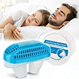 Atrilly Anti Snoring Device Nose Vent Plugs, Snoring Solution Air Purifier Filter Nasal Dilators Clip Stop Snoring Devices Snore Stopper Sleep Aid for Cometable Sleeping Breathing Women Men