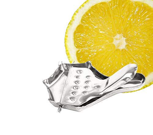 Zitronenpresse Tee Edelstahl Presse Zitruspresse Handpresse Limonenpresse Zitronenscheibenpresse